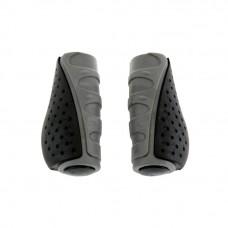 Грипсы HW 145303 L-92 (чёрно-серый)
