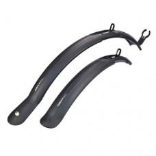 Комплект щитков грязе-защитных SIMPLA NEXT SDL (чёрный)