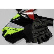 Перчатки JAFFSON SCG 46-0206 L (чёрный/жёлтый/белый)